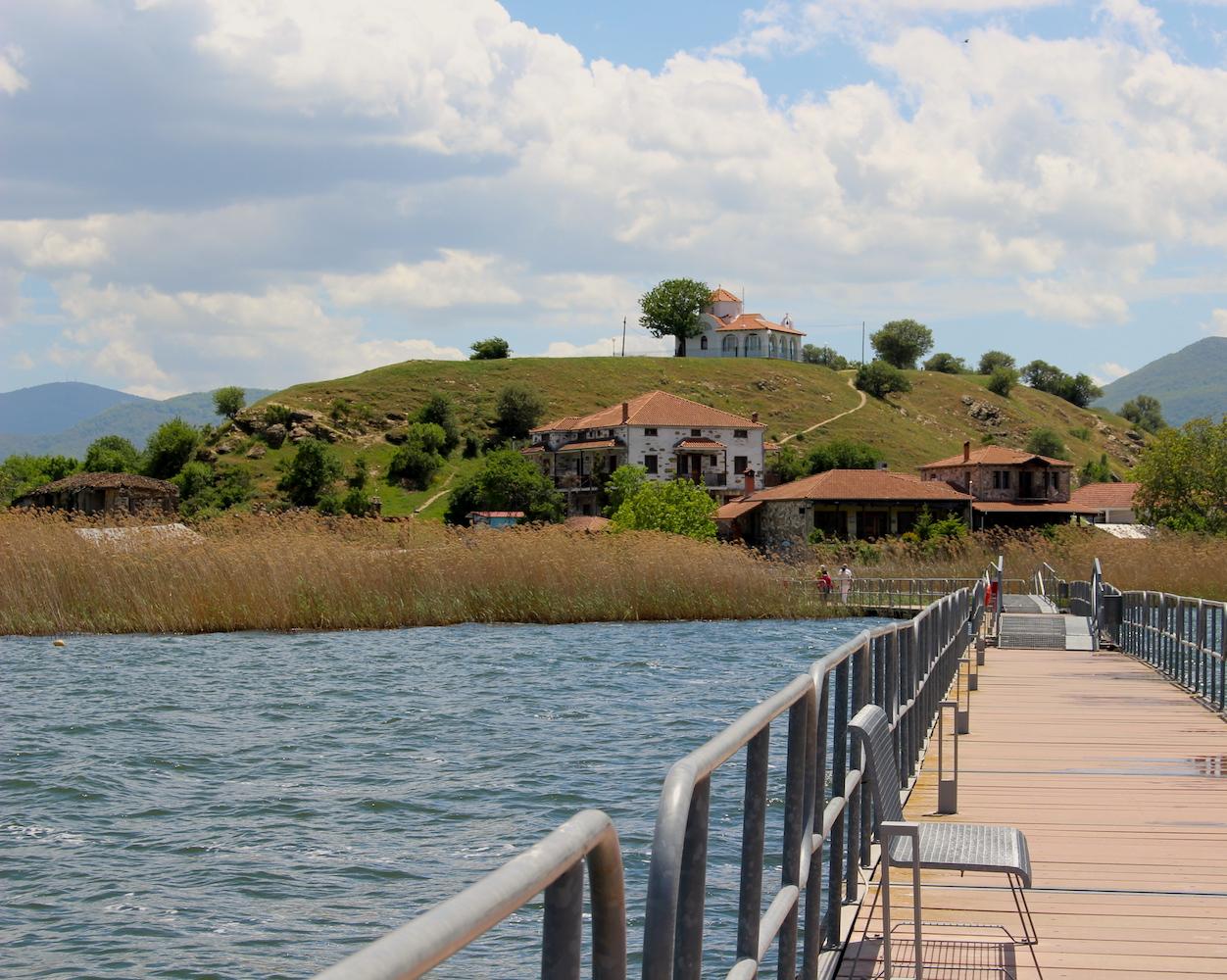 Малкото Преспанско езеро или Малото Преспанско езеро, Гърция