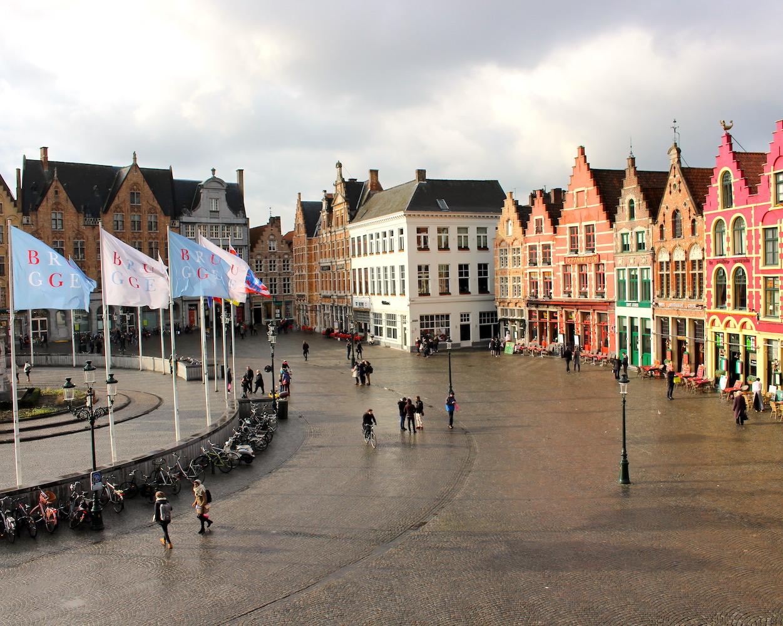 The Markt (Brugge), Bruges, Belgium